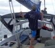 sur le vagabond en direction de la grande barriere de corail